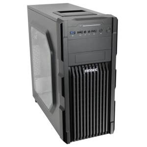 Meskwaki Gaming PC | Front Left View