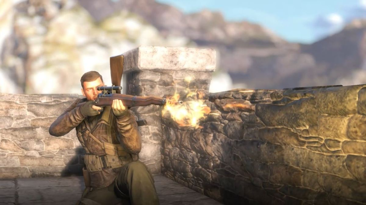 Sniper Elite 4 kill cam shots