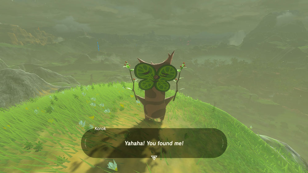 graphic relating to Printable Korok Seed Map identify Korok Seeds Map (Legend of Zelda Breath of the Wild