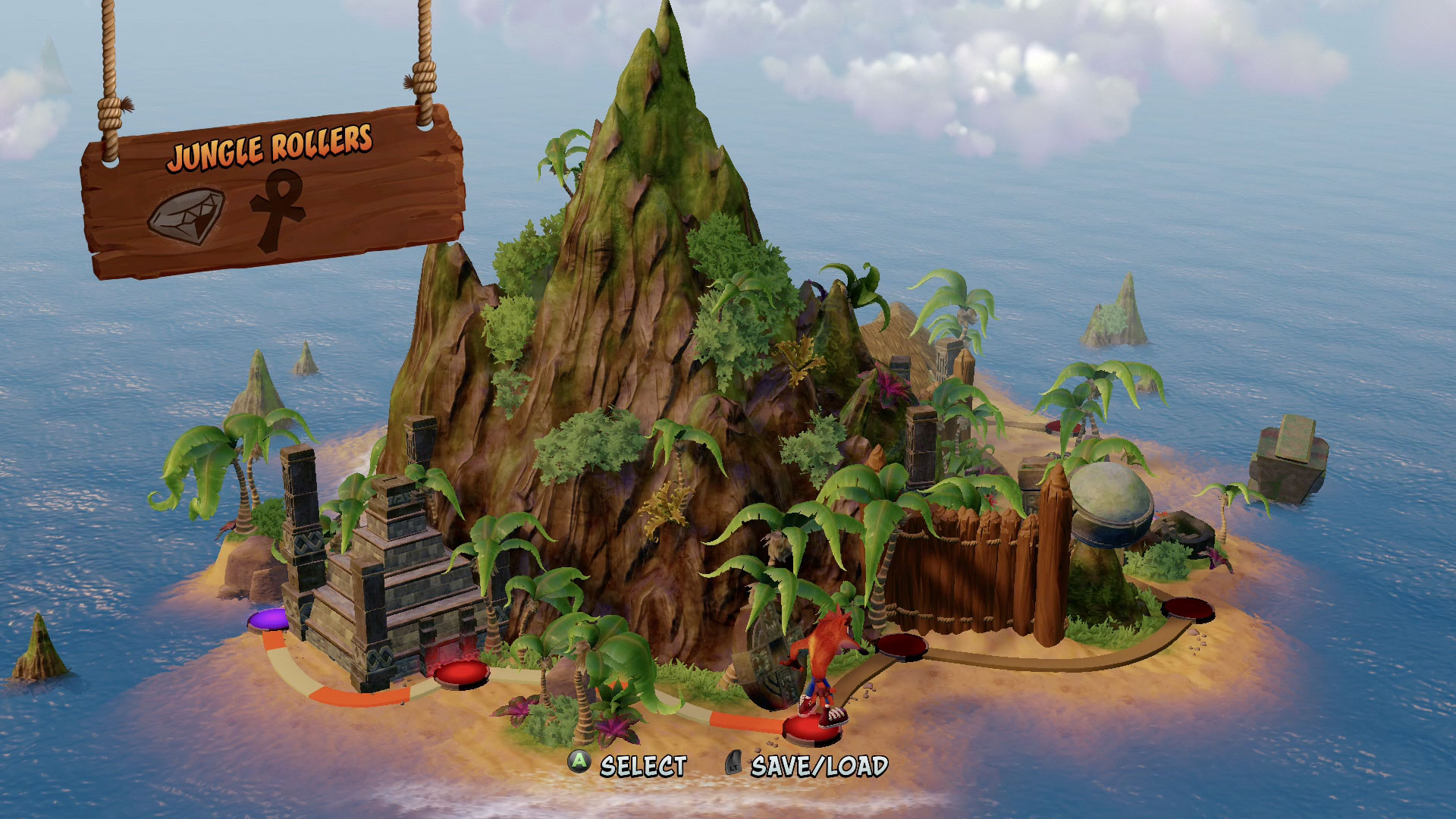 How to Get All Boxes in Jungle Rollers Level in Crash Bandicoot N