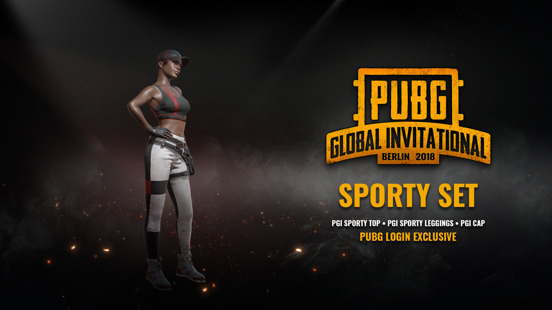 Get the Sporty Set Crate when You Log in to PUBG During PGI