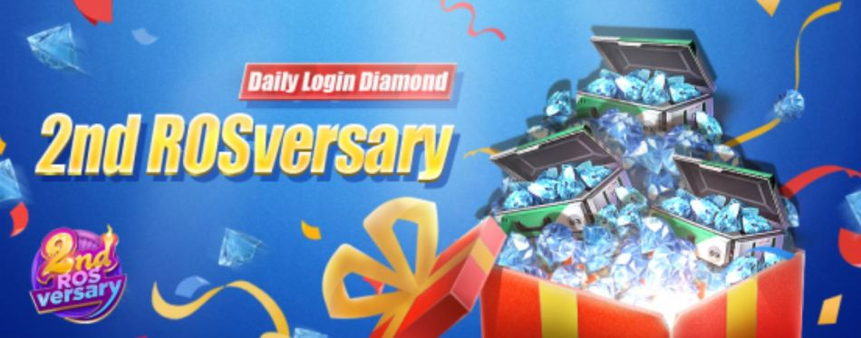 Daily Diamond Login Rules of Survival Battle Royale 2ndrosversary