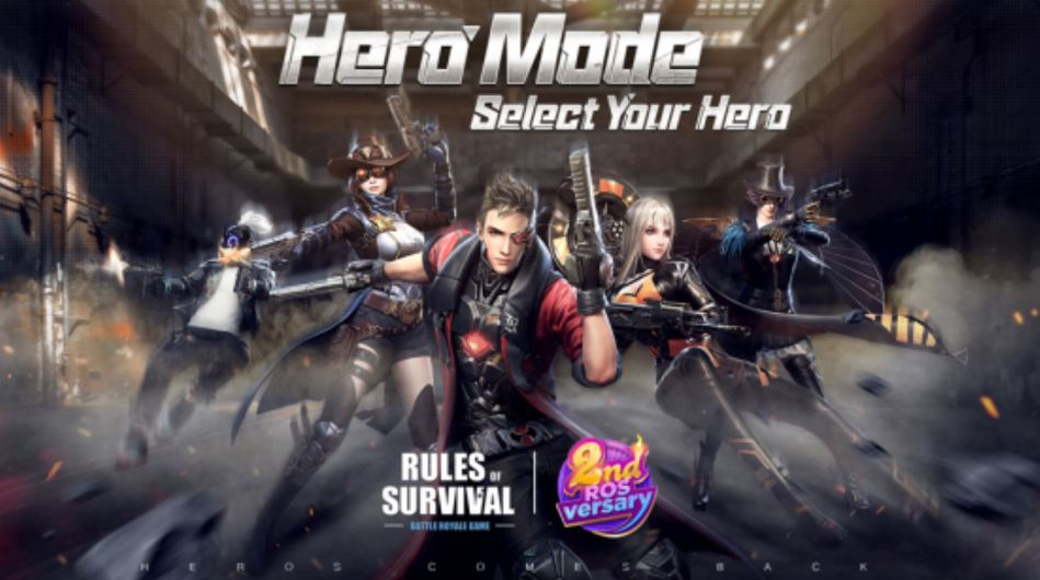 Hero Mode Rules of Survival Battle Royale