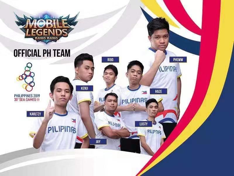 Mobile Legends Bang Bang Philippint Team SEA Games 2019