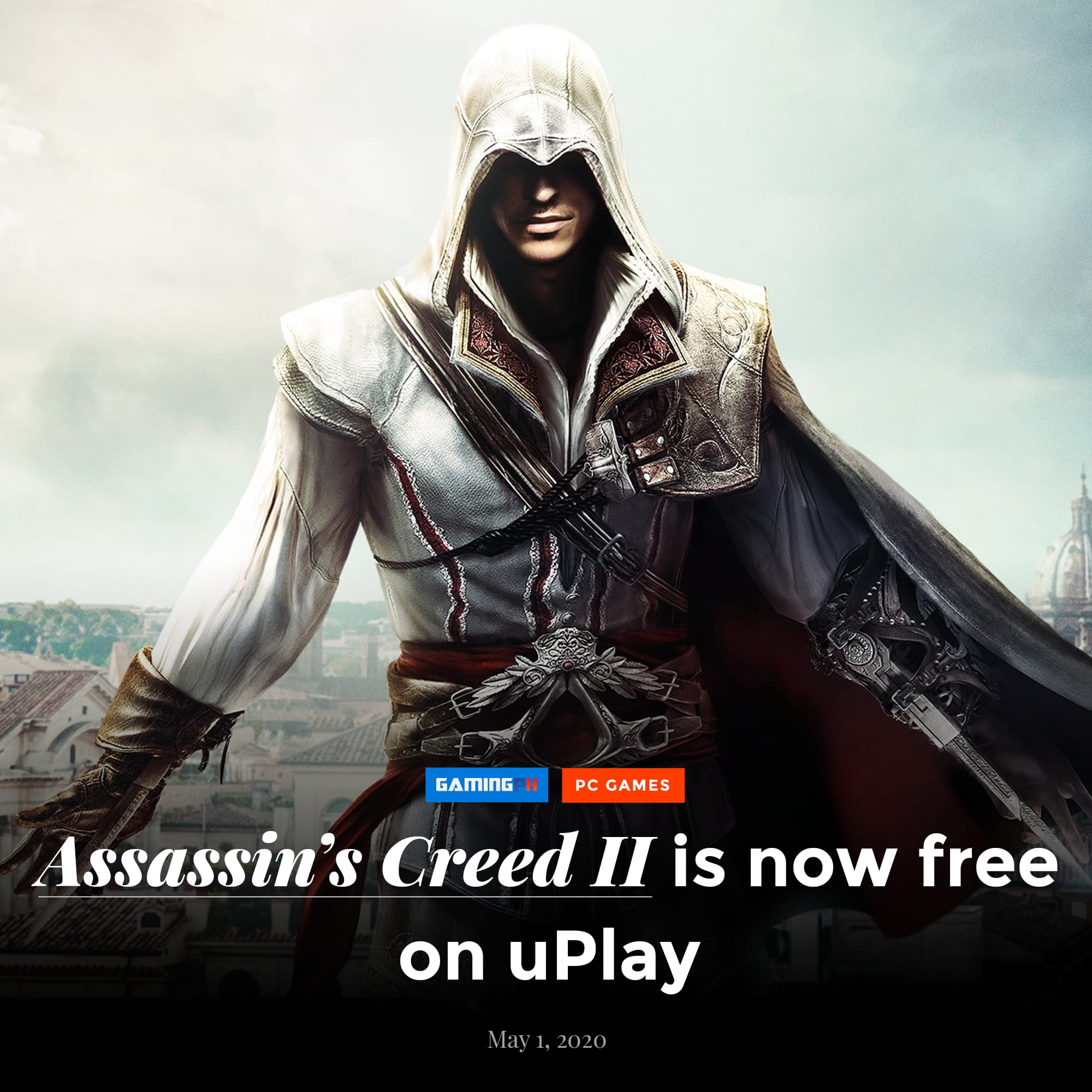 3 Games Are Free On Uplay Assassins Creed 2 Rayman Legends And
