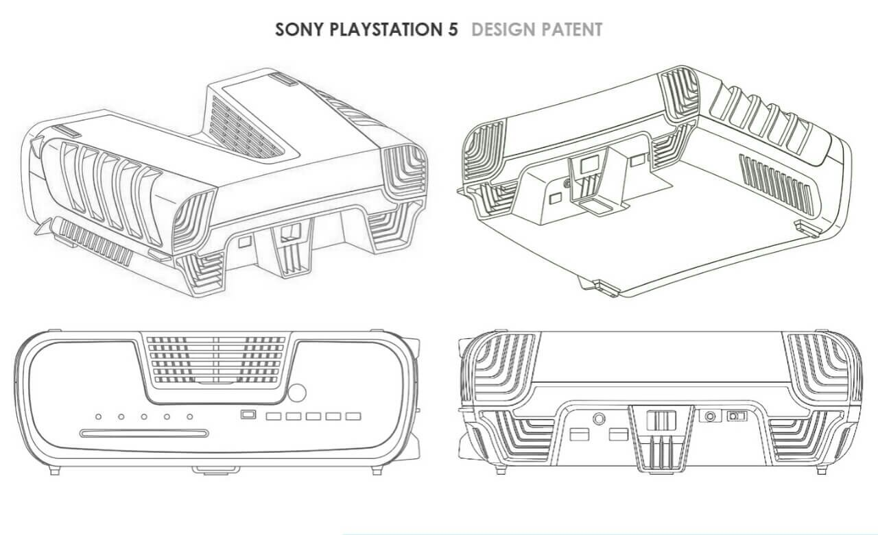 New Patent From Sony Shows What The Ps5 Will Look Like