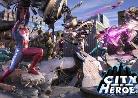 City of Heroes Já é Free-To-Play