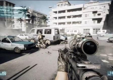 Battlefield 3: 5 Milhões de Unidades Vendidas Na Primeira Semana