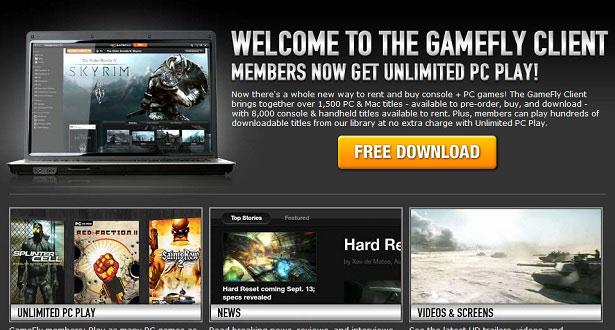 GameFly Prepara Entrada Forte No Mercado Da Distribuição Digital
