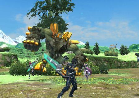PSO 2: Imagens Da Versão Da Vita
