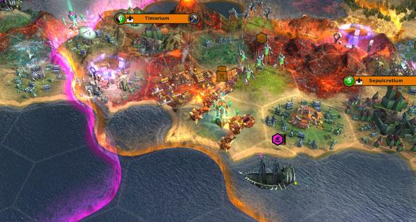 Warlock: Master of the Arcane Screenshot 1