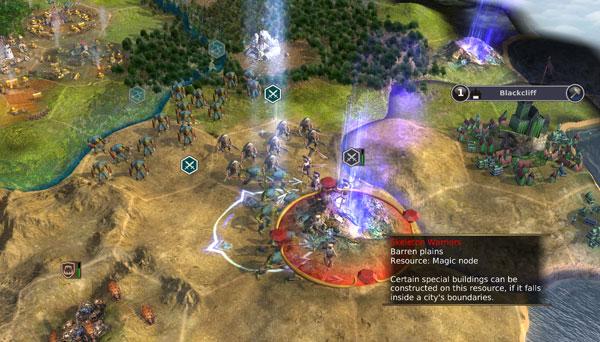 Warlock: Master of the Arcane Screenshot 2