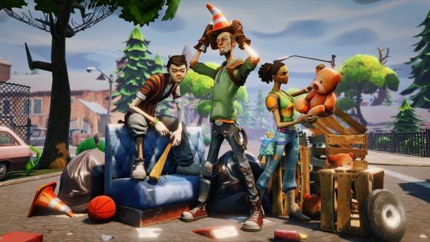 Fortnite: Primeiro Jogo Em Unreal Engine 4