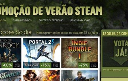 Steam: Arrancou Hoje a Mega-Promoção De Verão 2012!