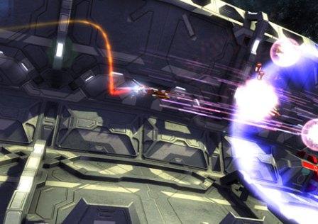 Orbitron Revolution: Disparos, Ação e Naves Espaciais