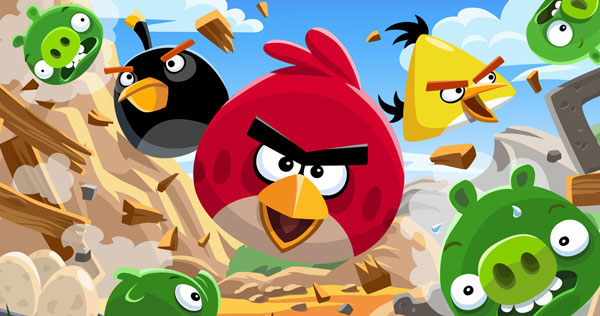 Angry Birds, Minecraft e Sony