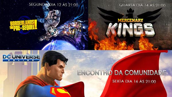 Transmissões: Semana de 12 de Janeiro 2015