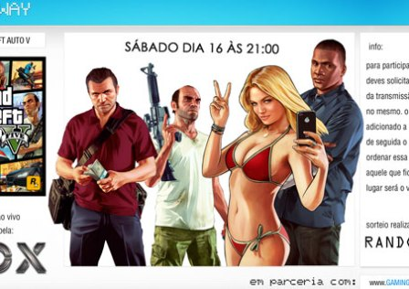 Giveaway: Grand Theft Auto 5