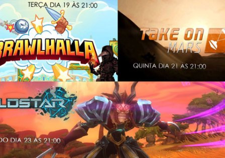 Transmissões Da Semana: Brawlhalla, Take On Mars e Wildstar