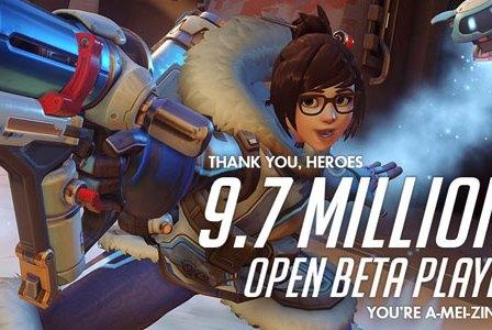 Overwatch: BETA Contou com mais de 9.7 Milhões de Jogadores