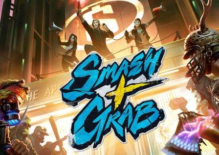 SMASH+GRAB Chega Hoje à Steam