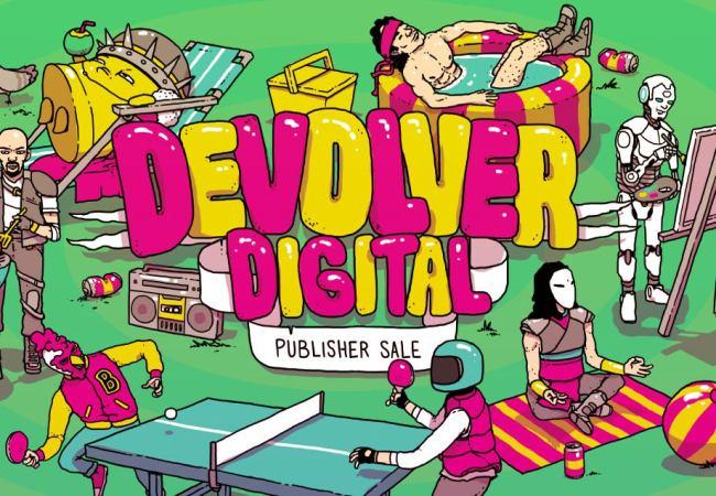 Até 90% de Desconto em Jogos da Devolver Digital