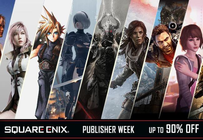 Até 90% de Desconto em Jogos da Square Enix