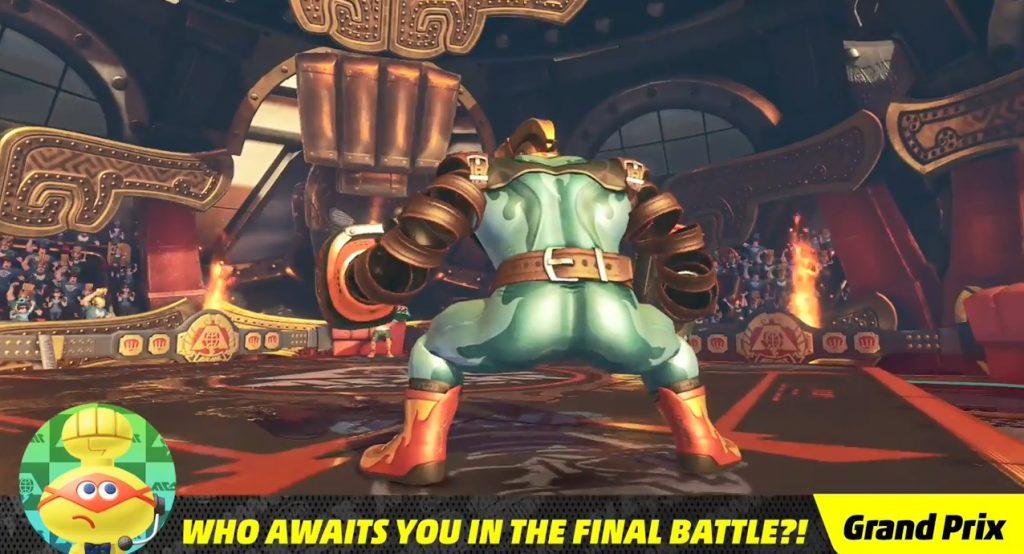 Resultado de imagem para nintendo switch arms final boss