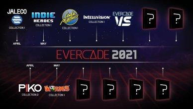 Evercade's 2021 plan