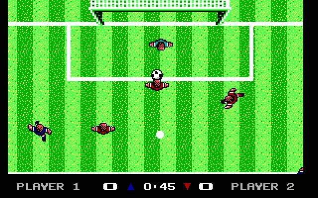 MicroProse Soccer MS-DOS