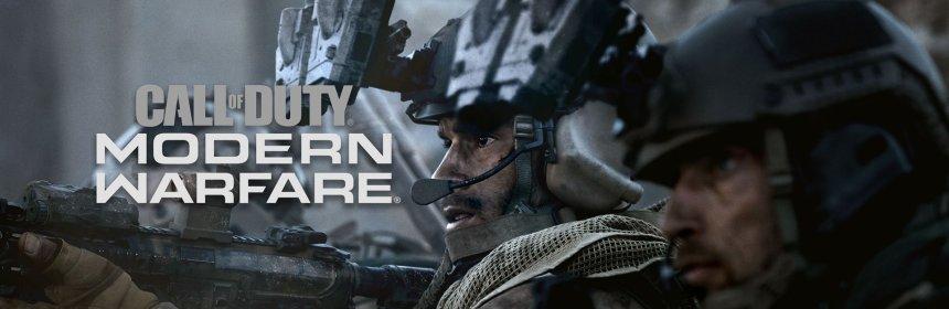 call of duty modern warfare holiday UK sales logo