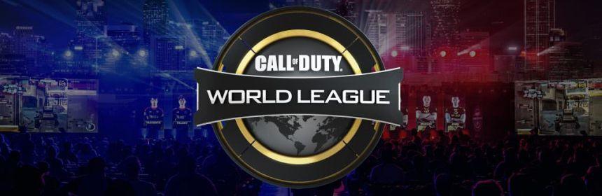 call of duty world league on youtube logo