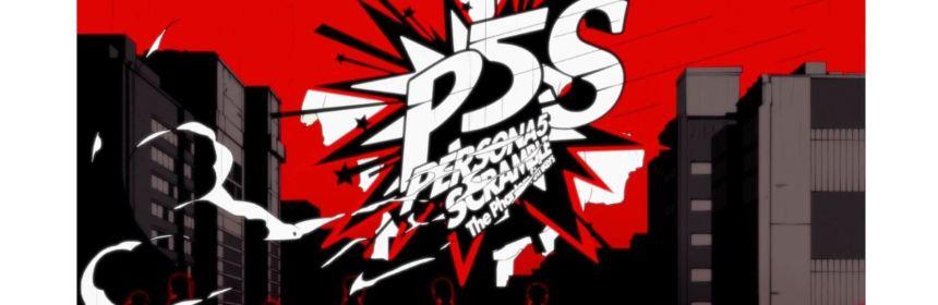 persona 5 scramble the phantom strikers logo