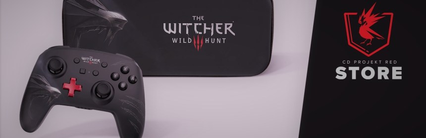 witcher 3 wild hunter feature controller logo