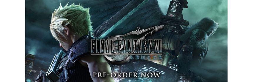 final fantasy 7 remake preorder delays logo