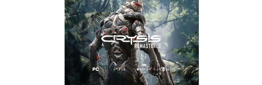 crysis remastered announced for nintendo switch logo