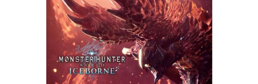 monster hunter world iceborne logo