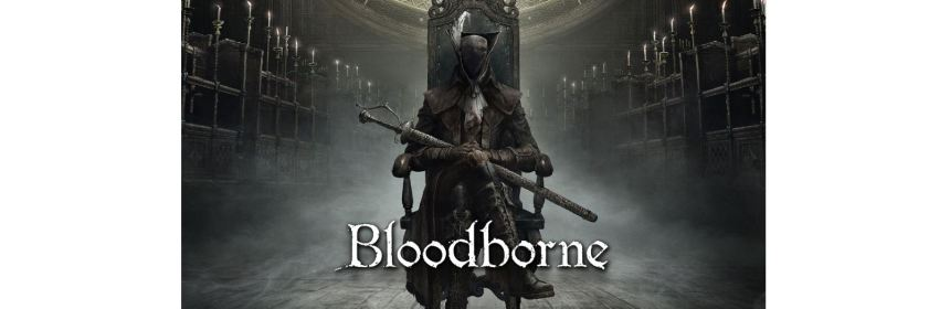 bloodborne remastered title screen logo