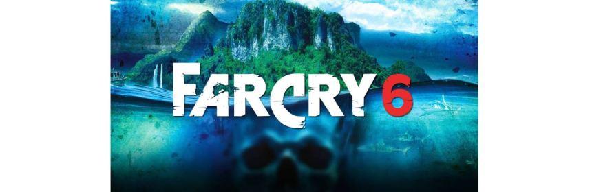 far cry 6 title screen logo