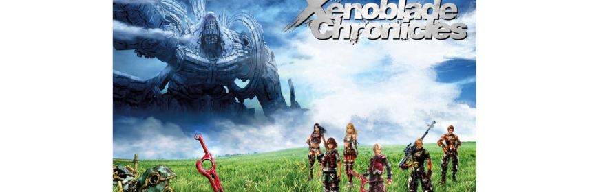 xenoblade chronicles title screen logo