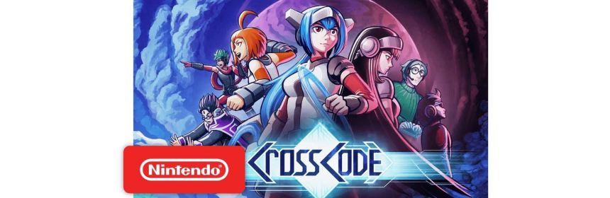 crosscode switch patch notes title screen logo