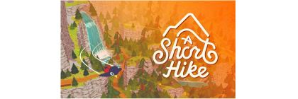 a short hike title screen logo
