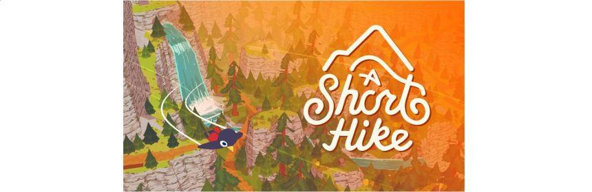 a short hike title screen logo