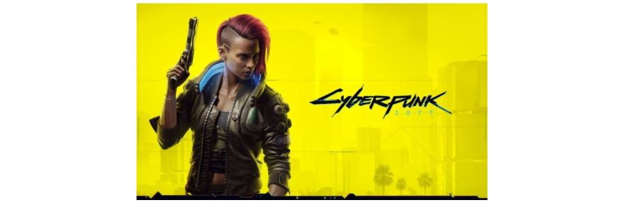 cyberpunk 2077 broken title screen logo