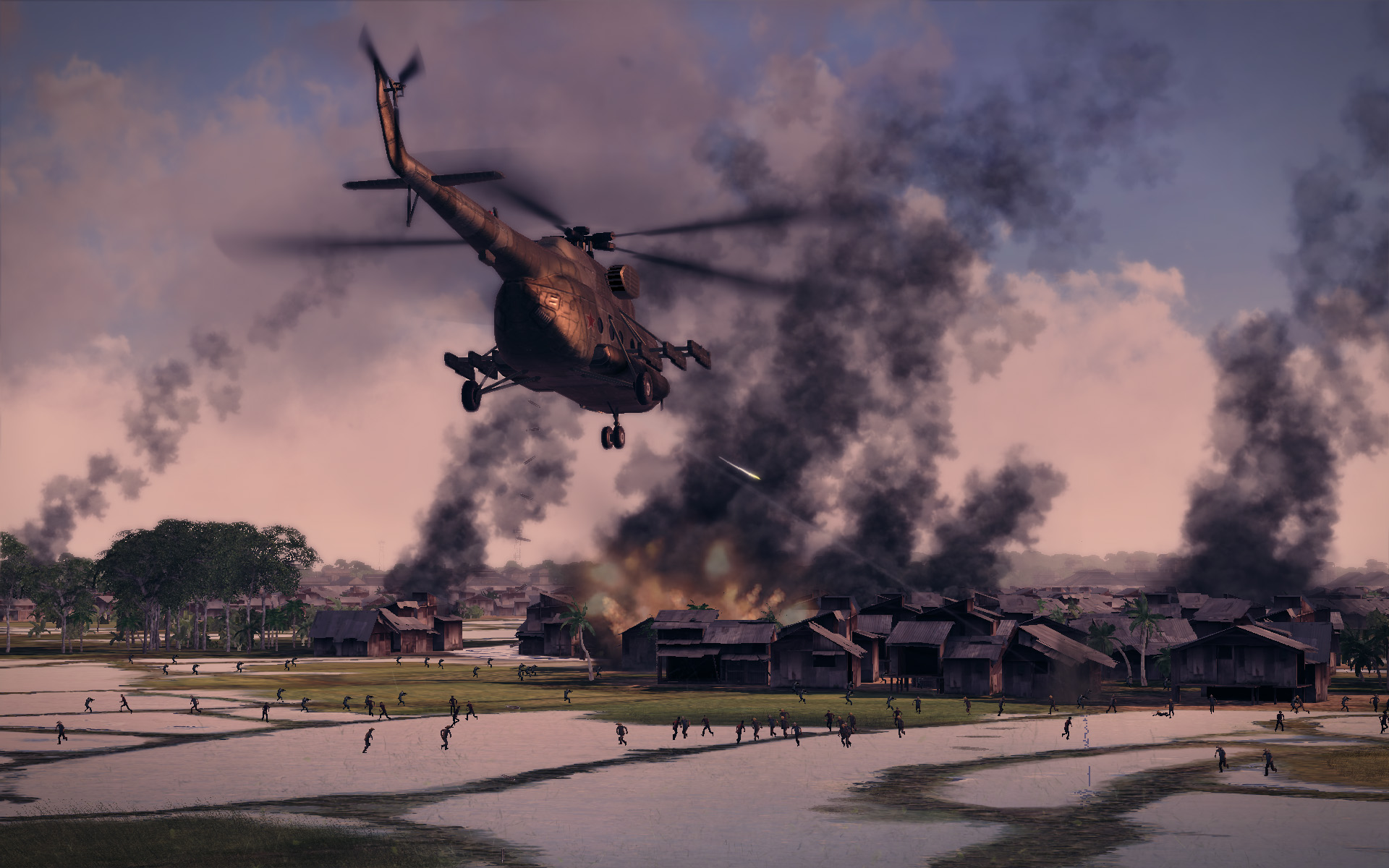 Air Conflicts Vietnam Helicopter Info And Screenshots