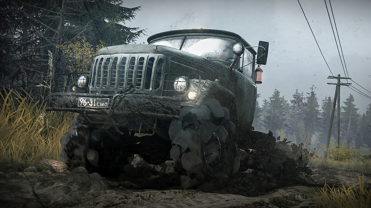 Spintires MudRunner Reveal Trailer GamingShogun