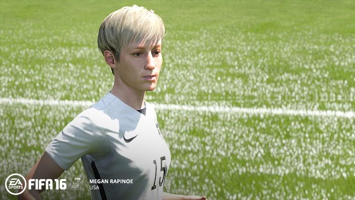 FIFA 16 Megan Rapinoe in Spielgrafik