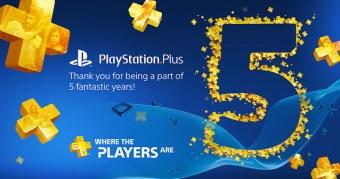 PS Plus 5 Jahre Wettbewerb