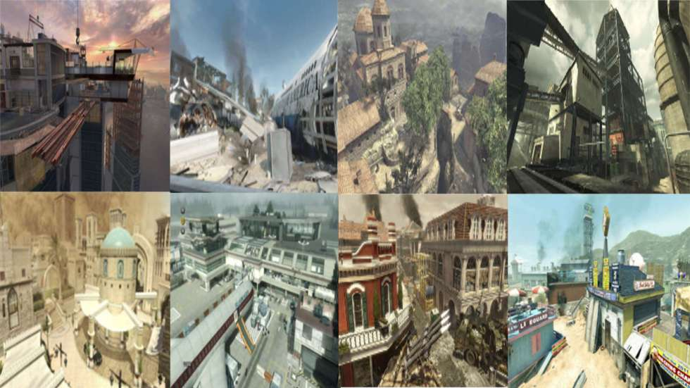 cod mw3 survival dlc uberlebenskampf maps liste tutorial guide
