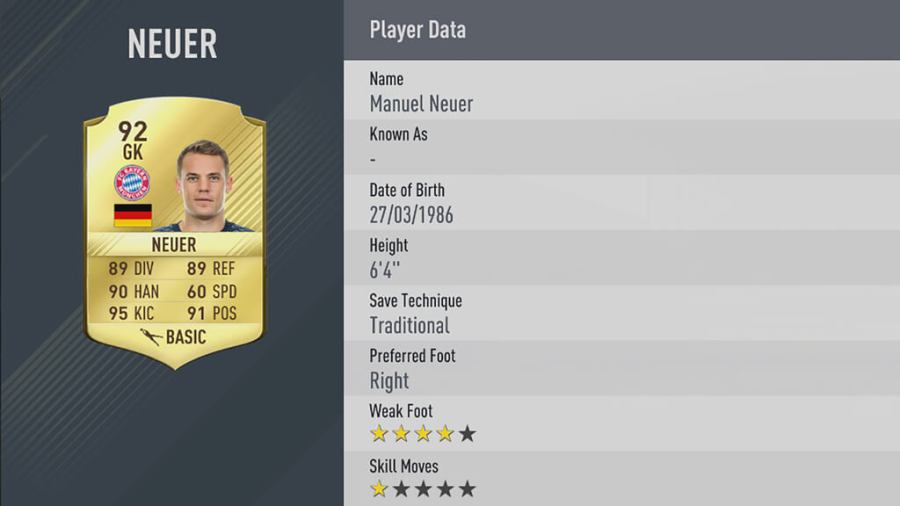 FIFA 17 Die 10 besten Spieler 5